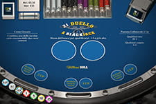 Un'immagine di 21 Duello a Blackjack sul casinò di William Hill