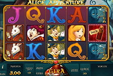 La slot Alice Adventure di bwin casinò.