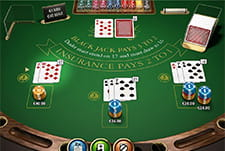 Il Blackjack Pro di Mr Green casinò.