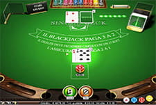 La versione Single Deck del blackjack su Unibet casinò