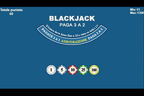 Blackjack su William Hill casinò mobile