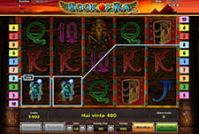 La slot Book of Ra di StarVegas.