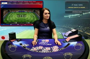 Football Unlimited Blackjack su Casinò.com live.