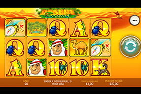 La slot Desert treasure del casinò Betfair mobile
