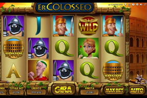 La slot Er Colosseo del catalogo mobile Merkur Win.