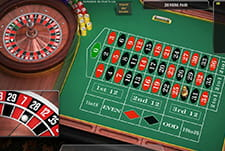 La European Roulette di Mr Green casinò.
