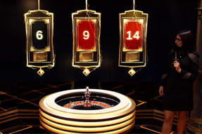 Lightning Roulette su GoldBet casinò live.