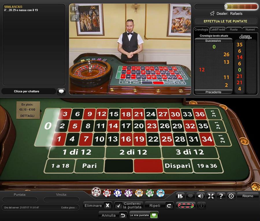 William Hill Live Casino Roulette