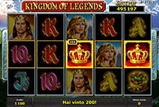 La slot Kingdom of Legends di StarVegas.
