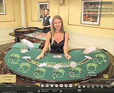 Il blackjack live del casinò Betfair