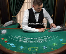 Il blackjack live di Gioco Digitale casinò.