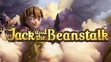 Logo della slot Jack and the Beanstalk di NetEnt.