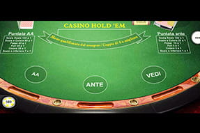 Il Poker Hold'em del casinò mobile Betfair