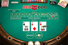 Il gioco Red Dog del casinò Merkur Win.