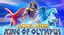 La slot jackpot Age of the Gods: King of Olympus di Playtech.
