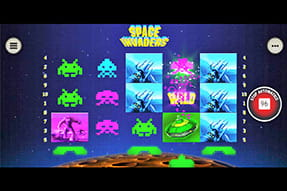 La slot Space Invaders del casinò Sisal mobile
