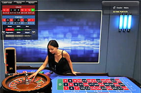 La Speed Roulette del casinò live Betfair