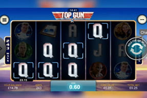 La slot Top Gun del casinò Betfair mobile