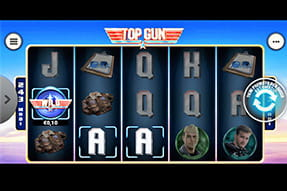 Slot Top Gun del casinò Sisal mobile