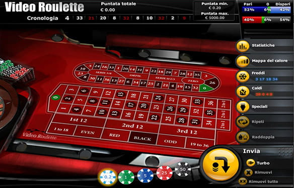 Roulette pari e dispari